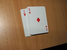 Picture of Blind man's cards
