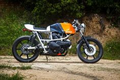 Cagiva 350 Cafe Racer by AdHoc Cafe Racers- Cafe Racer #motorcycles #caferacer #motos   caferacerpasion.com