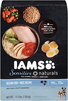 IAMS Sensitive Naturals Adult Ocean Fish and Rice Recipe Dry Dog Food 172 Pounds ** Check out this great product-affiliate link.