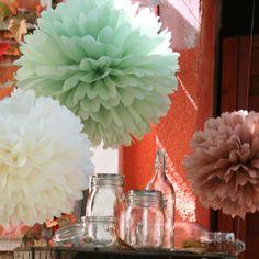 Pompom Manufaktur lattice pom pom decorations kit 5 pcs pom pom decorations