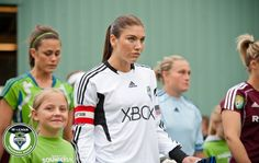 Seattle Sounders Women, I can't play soccer for crap I'm descent at keeper but that's about it but I ABSOLUTELY love watching the sounders play both men and women!!!:)