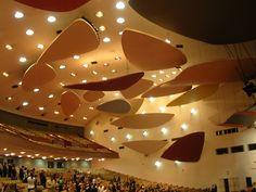 El Aula Magna de la Universidad Central de Venezuela en Caracas, es el auditorio…