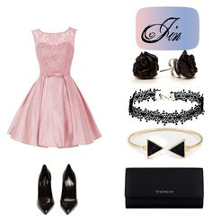 """Без названия #2"" by nao-kim on Polyvore featuring мода, Givenchy и Yves Saint Laurent"