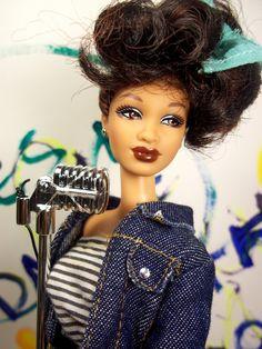 Whitney Houston Barbie doll
