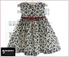 Classic GIRLS DRESS PATTERN, Waldorf Sewing pdf Patterns for Children, Baby, Toddler, E Book, Tutorial, 5 berries. $6,90, via Etsy.