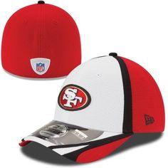 Mens New Era Scarlet San Francisco 49ers Training 39THIRTY Flex Hat Nfl  Shop f081b62d0d04