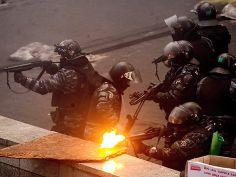 ukraine, kiev, late february 2014