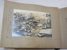 Not Unit 731, or the Nanking Massacre, but a Japanese photo album showing victims of the Great Kanto Earthquake of 1923