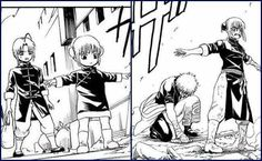 Kamui, Sakata Gintoki and Kagura Gintama Funny, Okikagu, Manga Pages, Sakura Haruno, Manga Comics, Best Memes, Anime Art, Fictional Characters, Anime Stuff