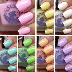 A color for everyday of the week! What Lime Crime polish are you wearing?