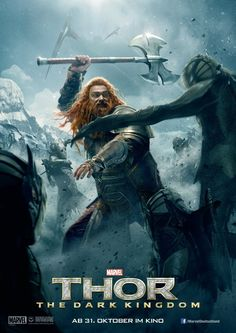 Extra Large Movie Poster Image for Thor: The Dark World - Volstagg - Ray Stevenson