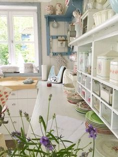 primavera in casa cucina