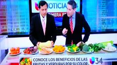 Beneficios de las frutas y verduras por su color. Por el Dr. Rafael Bolio.
