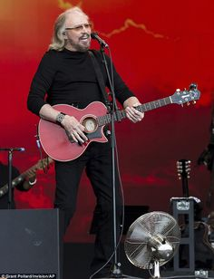 'I have no words': Barry Gibb's Glastonbury setlist caused confusion on social media as many younger viewers would recognise songs such as Tragedy and How Deep Is Your Love from 90s bands like Steps and Take That