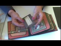 This video shows you how to make my 6 x 6 pocket album featured on the Graphic 45 blog. An Ambassador project made for them using my new square album and box...