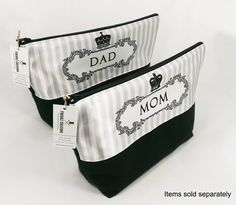 Mom & Day Toiletry Bags  In stock now!  http://ift.tt/1LMhqo9  #cosmeticpouch #toiletrybag #dad #mom #etsy #etsyshop #fireboltcreations #pregnant #vacation #travel #etsyseller #momswholift #baby #mother #mama #pink #mothersday #queen #gift #giftideas #gifts #handmade #daddy #momswholift #mommy #momtobe #momlife #shopping #handcrafted