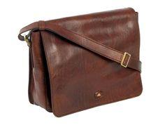 The Bridge Story Uomo Leather Messenger Bag Brown 32 cm 05275701/14