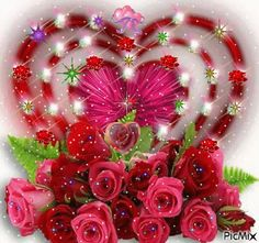 PicMix nejoblíbenější [p. Gif Mania, Birthday Wishes For Daughter, Open Rose, Gif Pictures, Cellphone Wallpaper, Flower Images, Beautiful Roses, Beautiful Hearts, Beautiful Gif