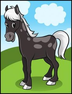 how to draw a simple horse http://www.dragoart.com/tuts/4915/1/1/how-to-draw-a-simple-horse.htm