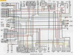 TR1/XV1000/XV920 wiring diagrams Manfred's TR1. Page