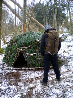 100 Wild Huts is an experimental challenge I've (Kevin Langan) set myself to build 100 small survival shelters on any piece of ground that harbours enough natural resources for the build.