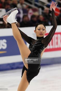 Miki Ando of Japan skates in the Ladies Free Skating during day seven of the 2011 World Figure Skating Championships at Megasport Ice Rink on April 30, 2011 in Moscow, Russia.