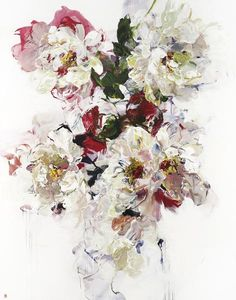 Canadian artist Bobbie Burgers is known for her large, abstracted floral paintings and landscapes. Paintings for sale at Bau-Xi Gallery Vancouver & Toronto.