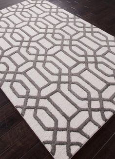 Bon Rugstudio Sample Sale 82166R Antique White / Liquorice Area Rug