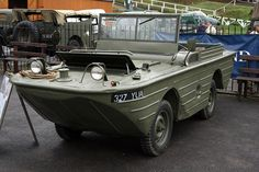 Brooklands Museum Military Vehicles Day - 1942 Ford GPA Amphibious Jeep by growler2ndrow, via Flickr