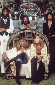 1977- Fleetwood Mac...one guess what the drug of choice was for them at this moment...