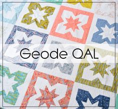 Geode Quilt Along by Alyce of Blossom Heart Quilts Star Blocks, Quilt Blocks, Bed Quilt Sizes, How To Finish A Quilt, Quilt Bedding, Quilt Tutorials, Quilt Patterns, Projects To Try, Kids Rugs