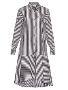 Osman Perfect 5 Pabita striped cotton shirtdress