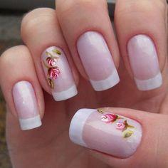 Francesa com flores
