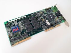 a high-end spea mercury p64 vlb video card from 1994. it based on the s3 vision 964 chipset with vram. i am not a big fan of the early spea cards, they need a tsr for the vesa extension support. the 964 with vram is a little bit slower in dos, as the 864 with dram. Video Card, Mercury, Fan, Retro, Cards, Instagram, Hand Fan, Maps, Retro Illustration