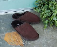 Shearling Slippers, Casual Attire, Footwear, Men, Shoes, Fashion, Fuzzy Slippers, Moda, Zapatos