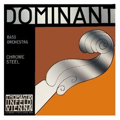Thomastik Dominant 191 3/4 Double Bass D String The Thomastik Dominant Orchestra 191 D String provides your double bass with warm mellow tones. The string is chrome wound for additional brightness and clarity as well as providing long lasting durab http://www.MightGet.com/january-2017-11/thomastik-dominant-191-3-4-double-bass-d-string.asp