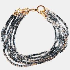 Armband mit Glasperlen