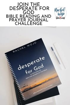 Desperate for God Bible Reading Challenge - RachelWojo.com God Prayer, Reading Challenge, Bible Verses, How To Start A Blog, Prayers, Challenges, How To Plan, Study, Studio