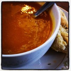 Butternut Squash and Apple Soup at Montague's in Colorado Springs