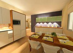 Keittiö ja ruokasali