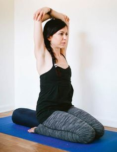 Yoga for Back Pain: Hero Pose