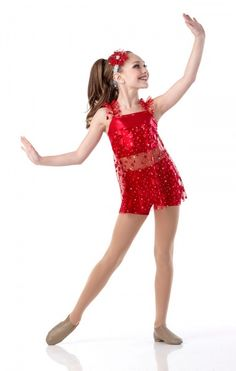 Maddie modeling for Cicci Dance 2014