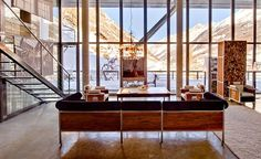 Chalet Julen is a luxury ski lodge in the heart of Swiss Alps, a spacious loft and probably the most magnificent property in Zermatt, designed by the alpine star Heinz Julen