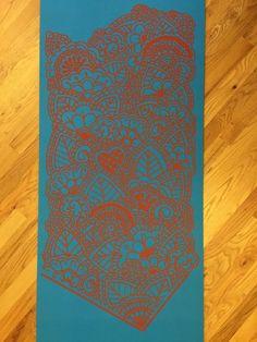 Joy Yoga Mat by Mondo-Mehndi