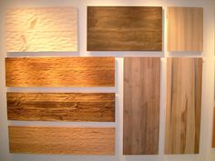 the Stone Source showroom, I discovered the addition of reclaimed wood to their inventory