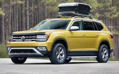 2018 VW Atlas Weekend Edition Shows Off Its Practical Side in Chicago