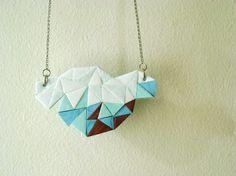 geometric pop necklace