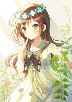 Anime girl Thiên Bình
