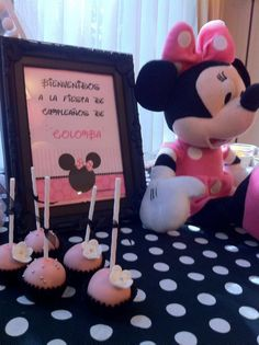 Minnie Mouse Chic Party Petit Posh cumpleaños infantiles exclusivos www.facebook.com/petitposhcumpleanos@gmail.com Santiago de Chile