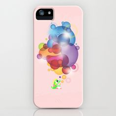 Bubbled iPhone Case by slippytee - $35.00 Retro Videos, Retro Video Games, Ipod, Nerdy, First Love, Bubbles, Gaming, Iphone Cases, Gifts